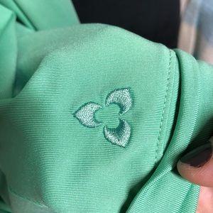Reebok Jackets & Coats - Reebok Ruffled Collar Yoga Jacket